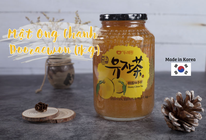 Trà Mật Ong Chanh Dooraewon Hàn Quốc không chỉ đem đến một món thức uống ngon miệng mà còn chứa đựng nhiều công dụng có ích cho sức khỏe.