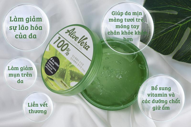 Gel Dưỡng Da Lô Hội Ra&Gowoori có tác dụng làm giảm sự lão hoá của da, chất nhầy của gel lô hội có khả ... Gel dưỡng tóc vào mùa hè tránh việc sấy tóc làm..