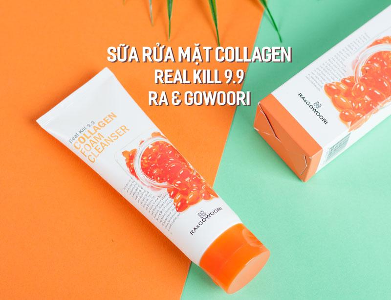 Sữa Rửa Mặt Collagen Real Kill 9.9 Ra&Gowoori