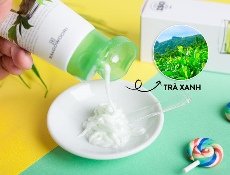 Sữa Rửa Mặt Trà Xanh Real Kill 9.9 Ra&Gowoori