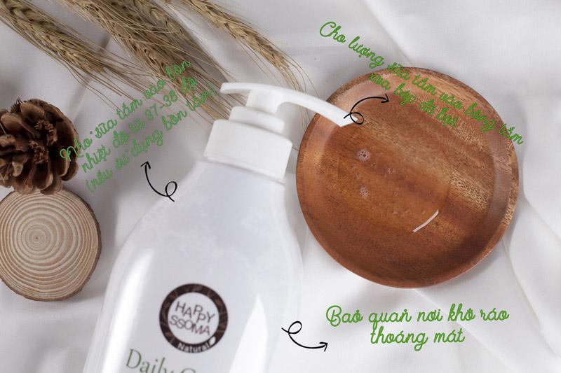 Sữa Tắm Chiết Xuất Gạo Happy Ssoma là dòng sản phẩm tự nhiên với thành phần chiết ... Sữa tắm Happy ssoma có chứa chiết xuất từ các loại hoa tươi và gạo.