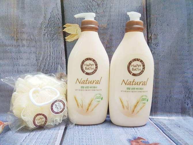 Sữa Tắm Happy Bath Chiết Xuất Gạo Thiên Nhiên (900 ml)