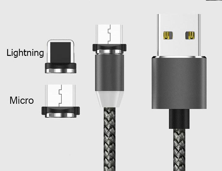 Có đèn LED giúp bạn phát hiện dây sạc trong đêm.